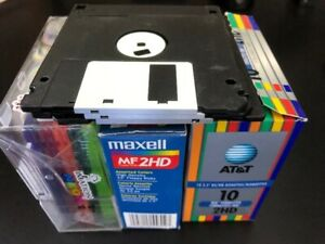 "Approx. 35ea. 3-1/2"" Floppy Discs(Blank) To Give Away"