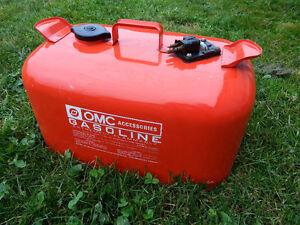 OMC Johnson Outboard Motor Boat 6 Gallon Fuel Gas Tank Vintage