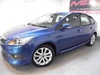 Ford Focus 1.6 ( 115ps ) 2009 Zetec S Excellent Condition Low Mileage