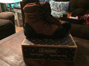 JB Goodhue Waterproof CSA certified boots