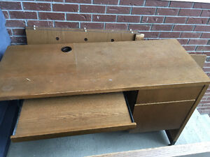 FREE Heavy duty L-Shaped wooden desk