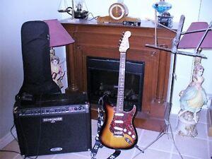 Guitare, amplificateur et plus