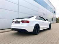 2015 15 reg Audi S5 3.0 TFSI S Tronic quattro Black Edition + WHITE + NICE SPEC