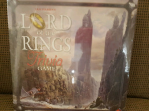 Lord of the Rongs Trivia game