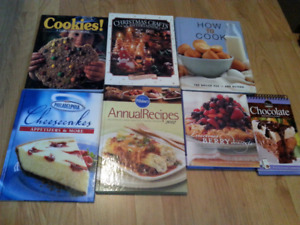 7 cookbooks. Like new