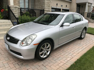 2006 Infiniti G35x (AWD) with Premium Package