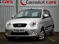 2009 KIA PICANTO ONE 1.0 PETROL 5DR HATCHBACH, LOW MILEAGE FULL SERVICE HISTORY