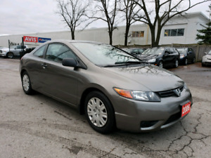 2006 HONDA CIVIC COUPE | CERTIFIED | LOW KM'S!