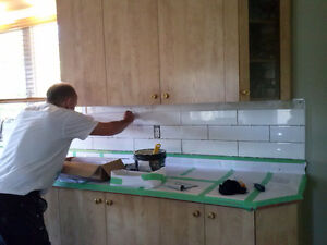 Pose de dosseret de cuisines et salle de bain Saguenay Saguenay-Lac-Saint-Jean image 2