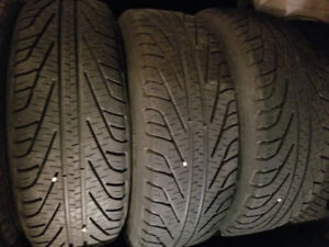 Michelin winter 4 tires with rims.toyota.honda.mazda.hyundai