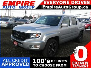 2013 HONDA RIDGELINE SPORT * 4WD * POWER GROUP * REAR CAM