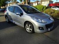 PEUGEOT 207 SW 1.6 VTi 120 AUTO COMPLETE WITH M.O.T HPI CLEAR INC WARRANTY