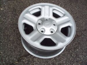 JEEP RIMS **never been installed