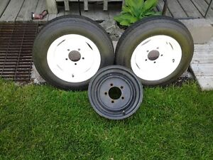 trailor wheelsand tires