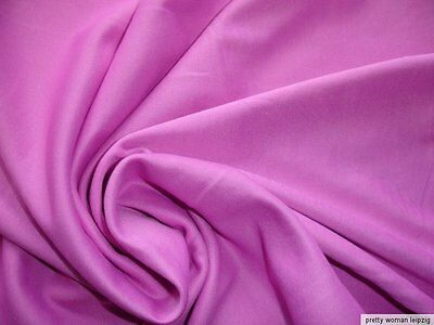 1 Lfm seidiger Jersey 3,55€/m² Trikotstoff Micromodal rosa PC64