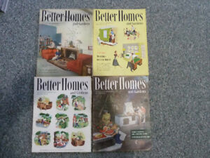 Better Homes magazines from the 40's and 50's, asking $30