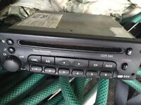 Vauxhall in car CD player