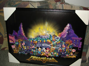 Disney Enchanted Castle Plaque
