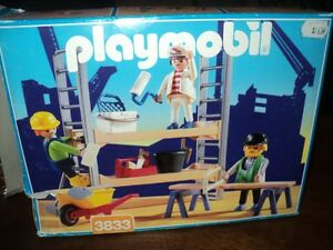 PLAYMOBIL CONSTRUCTION SET 3833