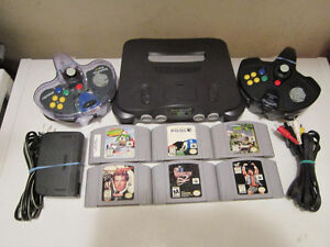 N64 System W/games And Gamecube W/Games