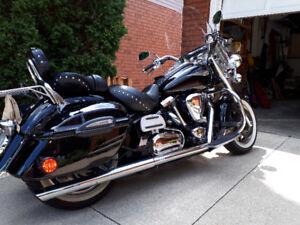2005 Yamaha Road Star Midnight Silverado
