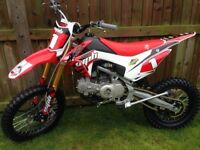 Wpb 140 race pitbike