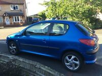Peugeot 206 1.1 2004 Petrol Good Condition
