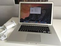 "Apple MacBook 15"" 2011. Hi-res anti glare screen. Ssd hard drive 8GB RAM"
