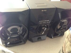 Sony high powered home audio stereo system