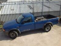 2001 FORD RANGER SINGLE CAB S/C MANUAL DIESEL 4X4 BLUE