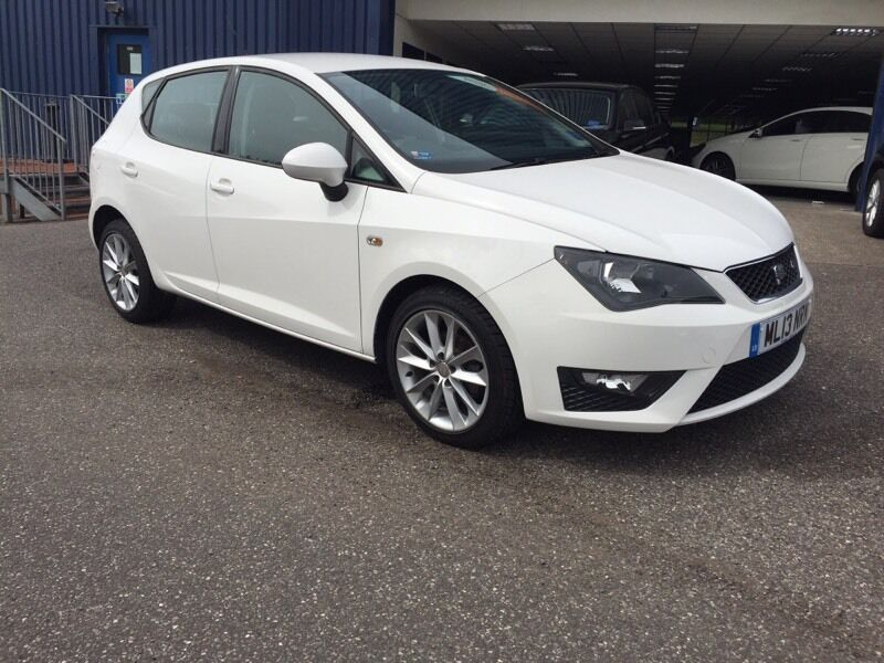 2013 seat ibiza fr 1 2 tsi 105 white in wedmore somerset gumtree. Black Bedroom Furniture Sets. Home Design Ideas