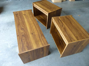 Coffee Table / End Tables - 3 Piece set Kitchener / Waterloo Kitchener Area image 2