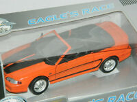 Eagle's Race 1/18 Scale 1994 Ford Mustang Diecast Car Orange