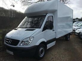 MERCEDES BENZ SPRINTER 313CDI LWB LUTON WITH TAIL LIFT 63 REG
