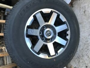 "Set of Tires and Rims ""New"""