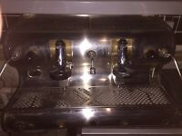 Vintage Fiorenzato Coffee Machine and Grinder