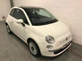 Fiat 500 1.2 LOUNGE EDITION 2012/62, ONLY 35000 MILES,CHEAP INSURANCE / TAX