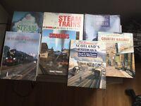 Seven wonderful hardback books on Steam Trains