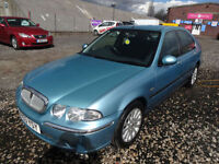 ROVER 45 1.4i IMPRESSION S~53/2003~4 DOOR SALOON~MANUAL~AN AMAZING 50k !!!~FSH
