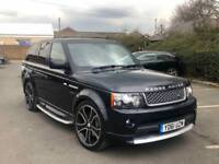 2012 RANGE ROVER SPORT 3.0 SDV6 HSE LUXURY AUTOBIOGRAPHY SPEC BLACK FULLY LOADED