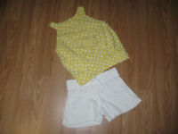 George size 3 paired with Vintage Angels shorts size 2/3