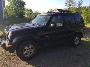 2003 Jeep Liberty Black in colour SUV, Crossover