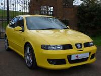 2004 Seat Leon 1.8 20v Cupra R 5dr Manual Hatchback in Yellow