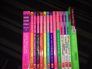 Dear dumb diary books full set