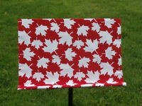 Canadian Flag Inspired Slip Cover for Music Stand