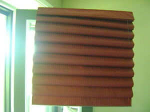 ROMAN BLIND AND TAB TOP CURTAINS