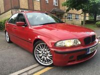 Bmw e46 330d imola red m sport 2001 drives perfect no faults no issues bargain