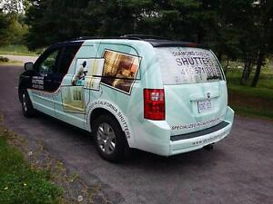 Vehicle Vinyl Wraps And Lettering