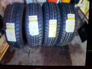Winter tires lt235/75r15 brand new
