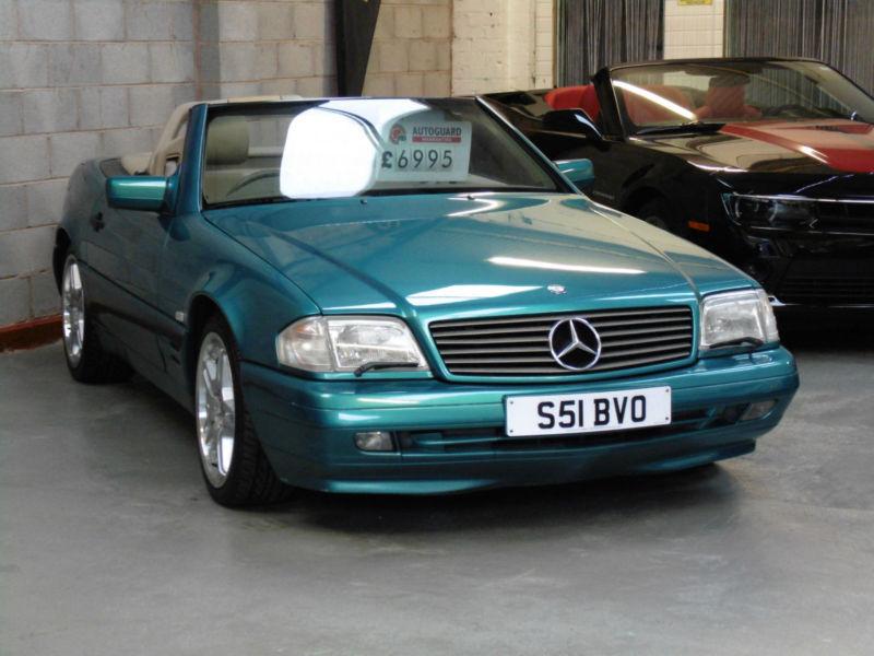 mercedes benz sl500 5 0 auto 1998 s convertible v8 in. Black Bedroom Furniture Sets. Home Design Ideas